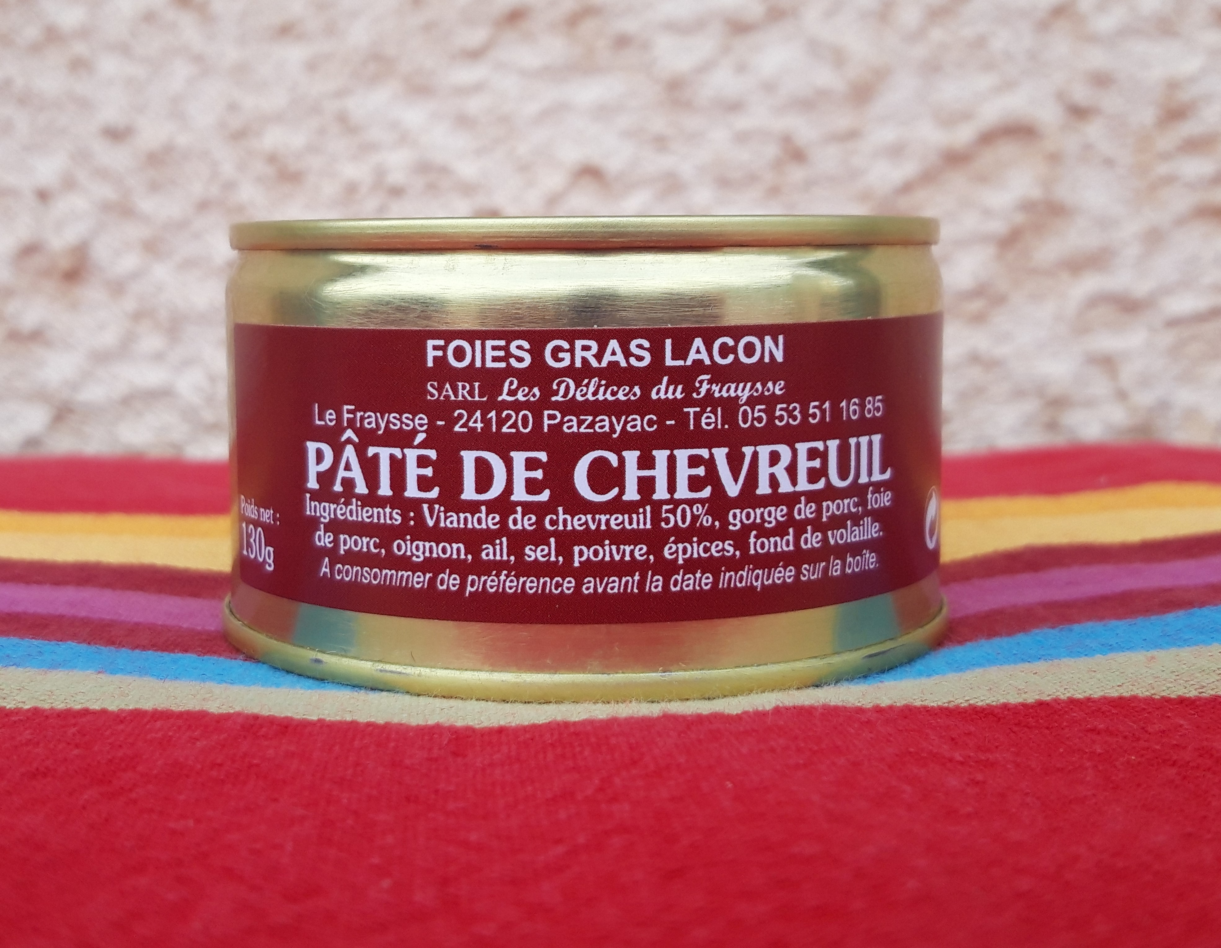 Pâté de Chevreuil