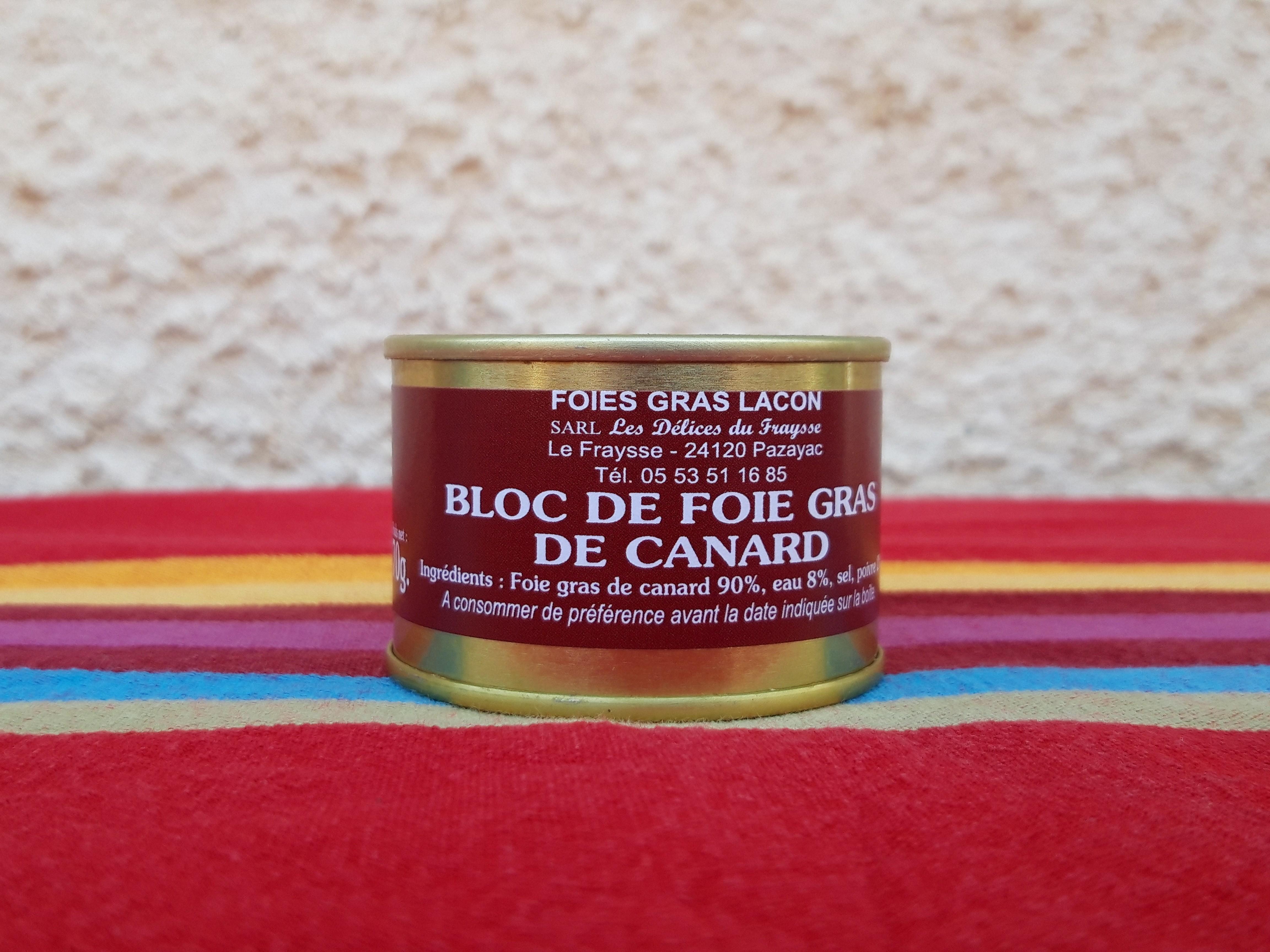 Bloc de foie gras 70g