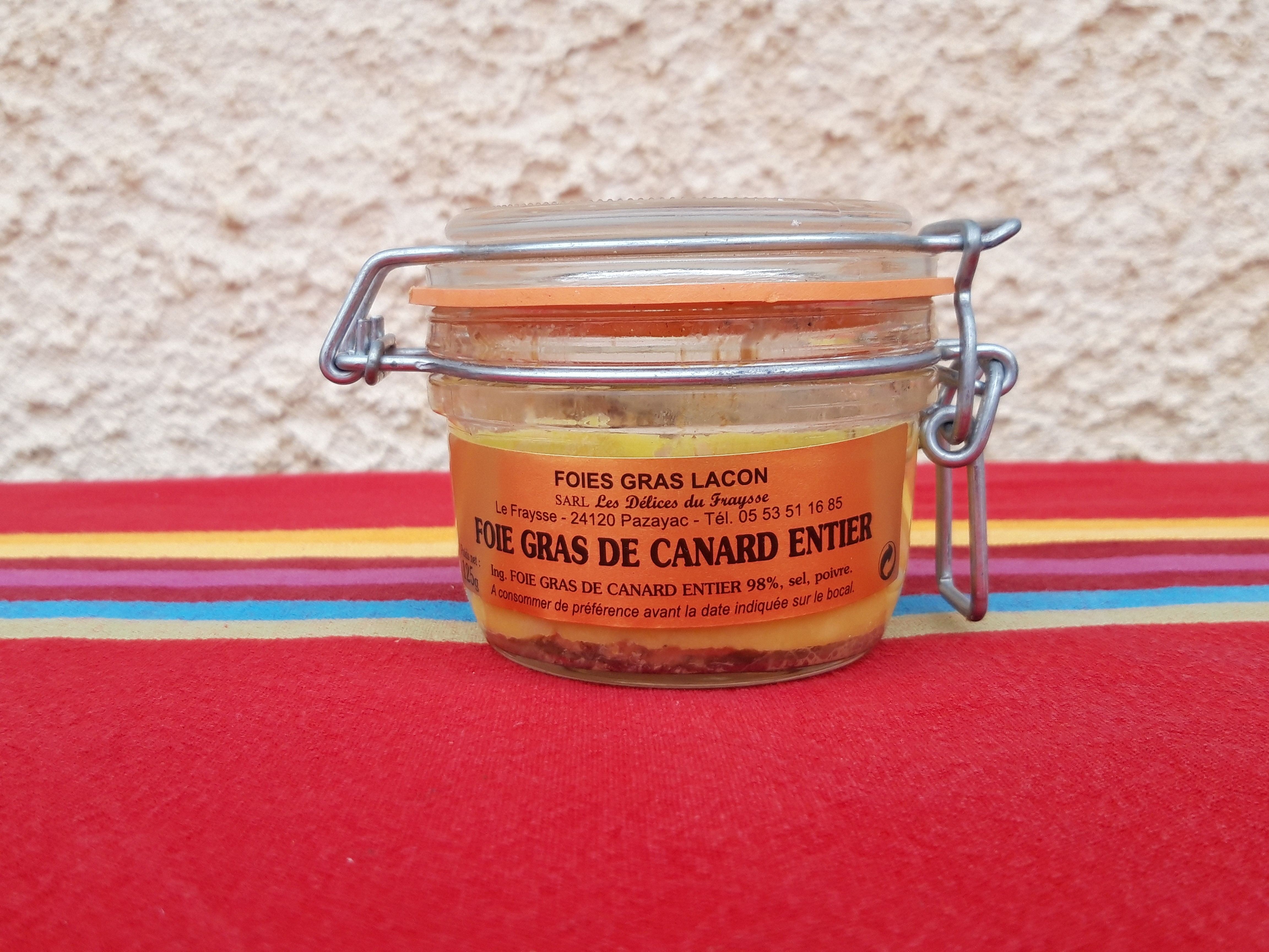 Foie gras entier 125g