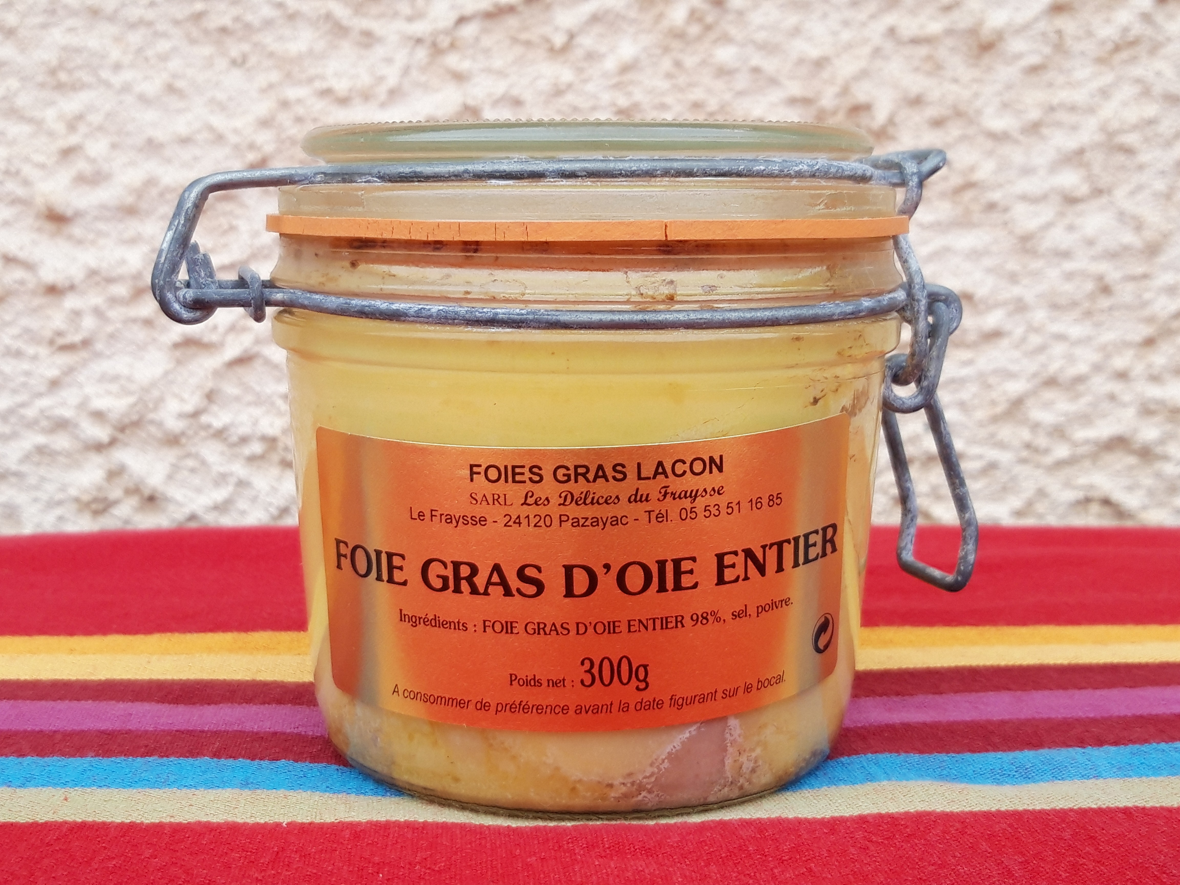 Foie gras d'oie 300g