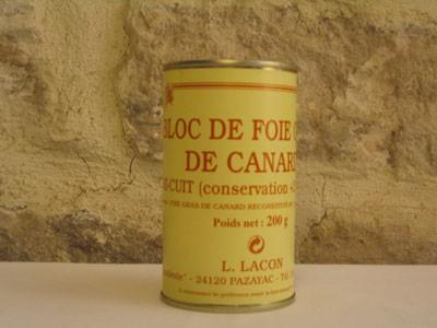 Bloc de foie gras 200g