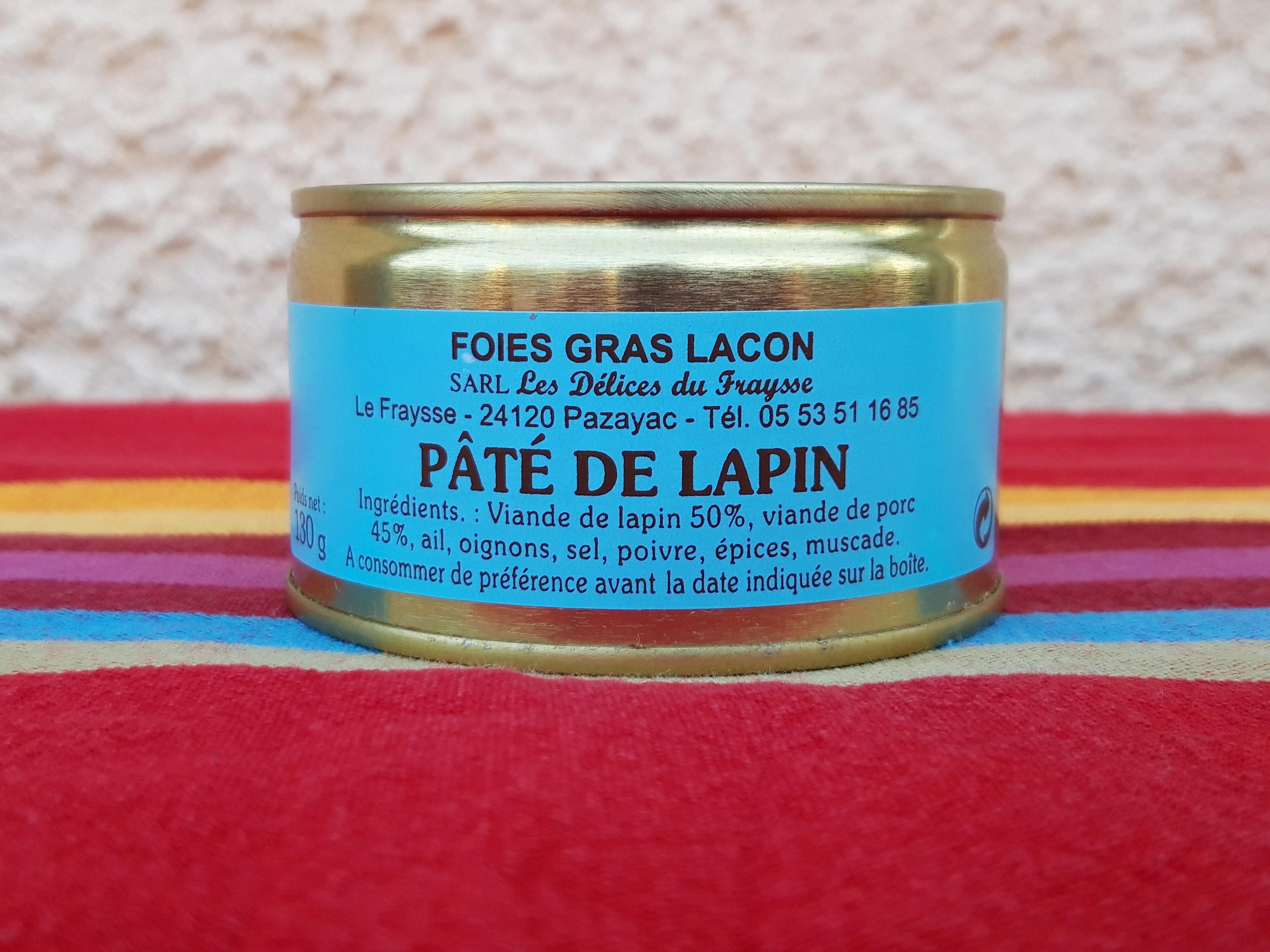 Pâté de Lapin