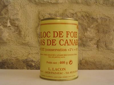 Bloc de foie gras 400g